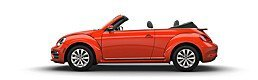 New Volkswagen Beetle Convertible at Lexington